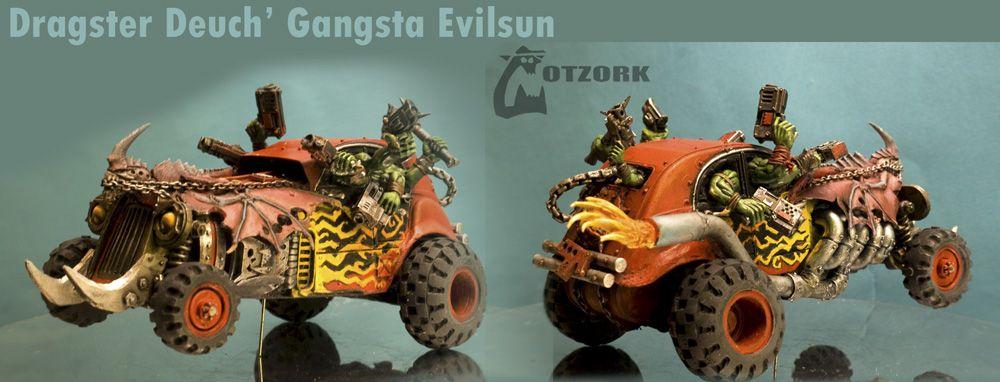 Dragster Deuch' Gangsta Evilsun by Gotzork