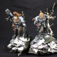 3- Scouts Space Wolves par Yad