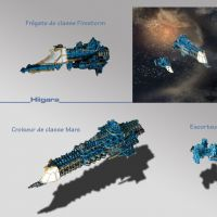 Flotte Battle Fleet Gothic par Hiigara