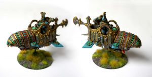 Alaric et sa moto Thousand Sons