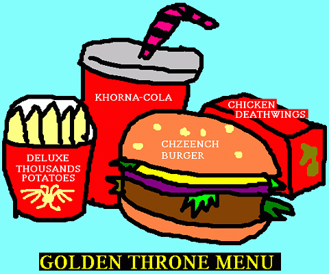 Golden Throne Menu par Quang