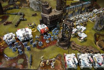 Mars 2017 : White Scars & World Eaters vs Tau